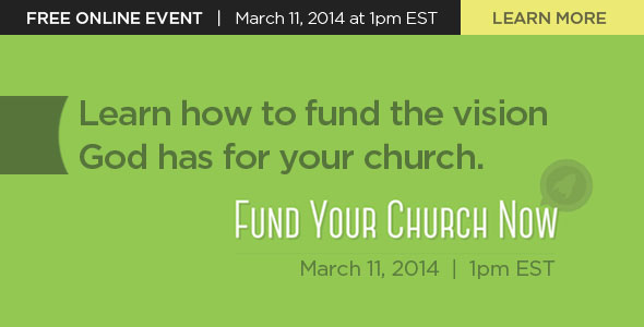 Fund Your Church Now | Learn More